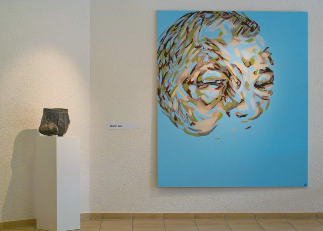 20 Years, 20 Artists, Group Exhibition Including Martin Gut`s Paintings And  Art